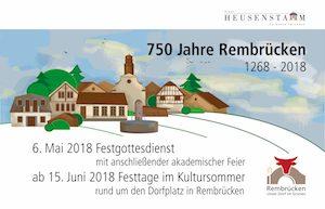 Banner 750 Jahre