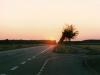 Sonnenuntergang über Heusenstamm