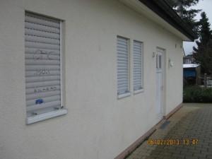 Vandalismus Alte Schule © Stadt Heusenstamm