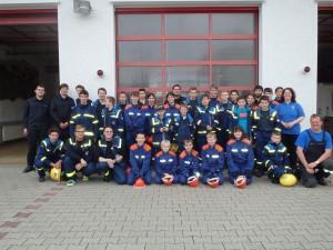 THW-Jugend Seligenstadt besucht Jugendfeuerwehr