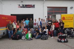 Gruppenbild der Teilnehmer am Zeltlager 2014