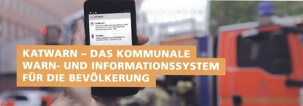 Katwarn - das kommunale Warn- und Informationssystem für die Bevölkerung