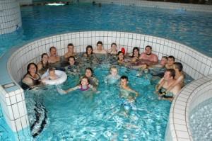Die Teilnehmer der zweiten Woche hatten ihren Spaß im Erlebnisschwimmbad