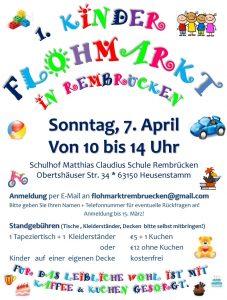 1. Kinderflohmarkt (Plakat)