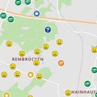 Geocache-Karte von Rembrücken
