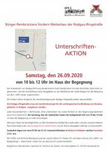 Plakat Rodgau-Ringstraße