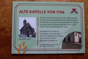 Infotafel Kapelle